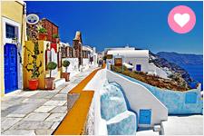 【華航直飛】藍與白的浪情希臘