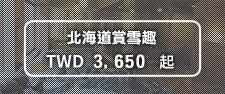 北海道賞雪趣 TWD3,650起