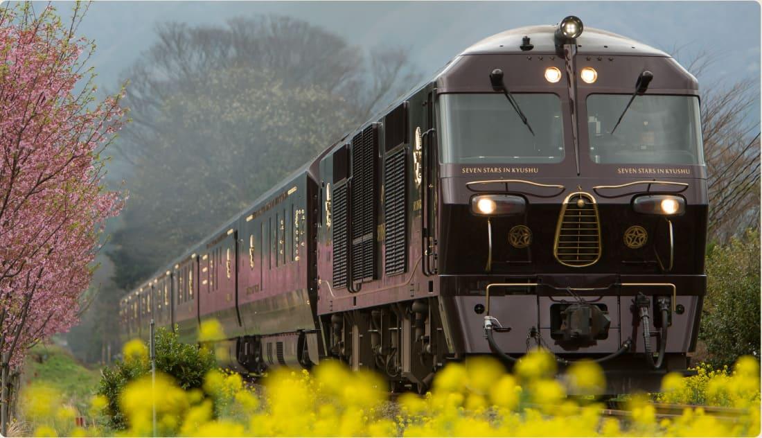 列車 九州 豪華 クルーズトレイン「ななつ星in九州」 JR九州